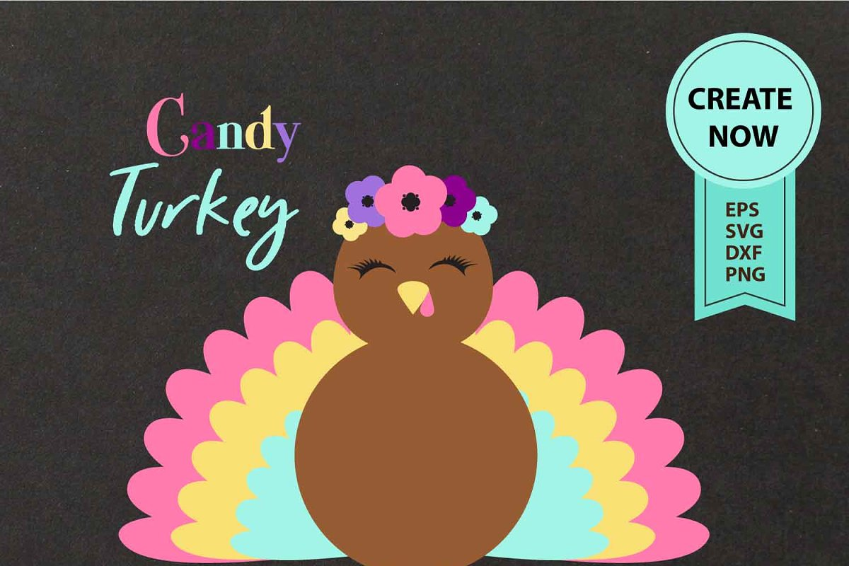 Turkey Clipart happy thanks giving.