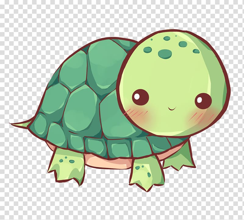 girl turtle clipart #4