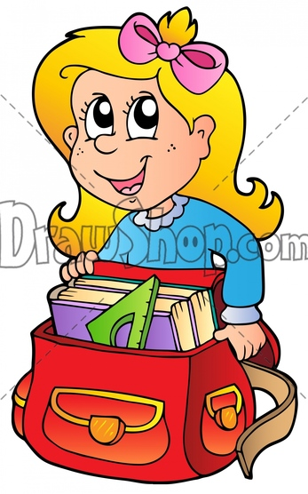 Showing post & media for Cartoon girl packing suitcase.