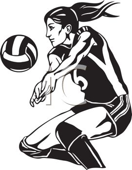 Volleyball Player Clipart, Download Free Clip Art on Clipart Bay.