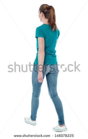 Woman Walking Stock Images, Royalty.