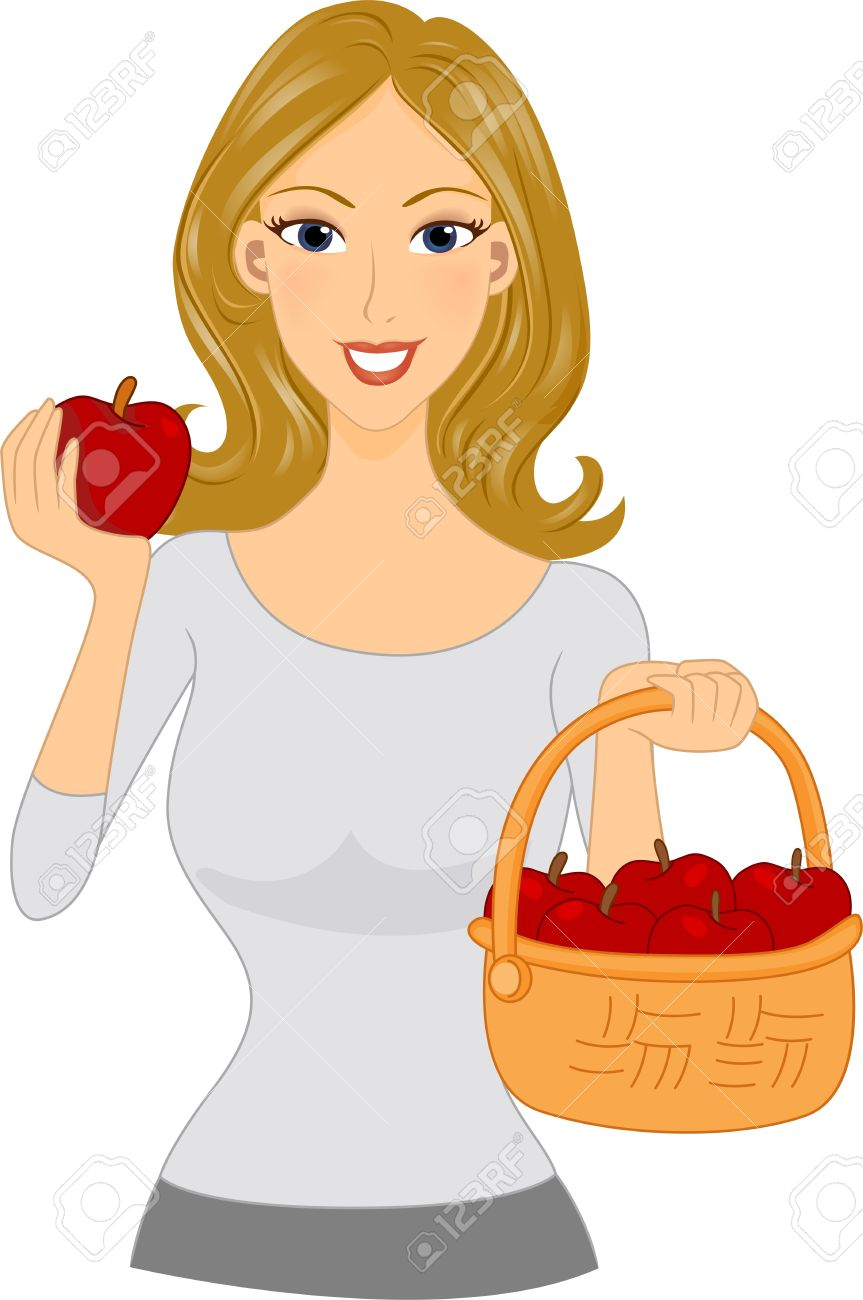 with apple clipart.
