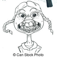 Braces Vector Clip Art Royalty Free. 1,731 Braces clipart vector.