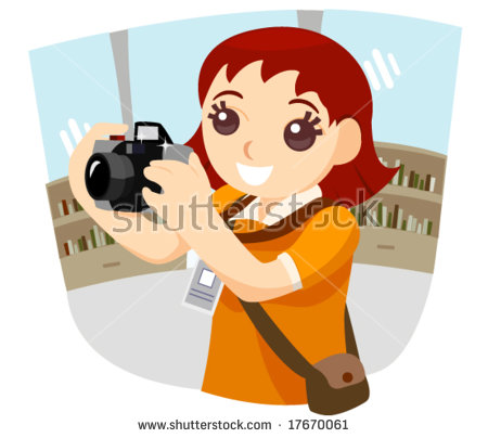 Girl Photographer.