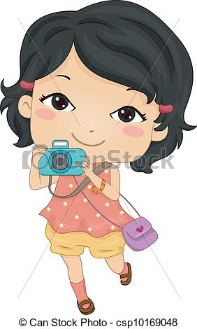 Girls camera Clipart Vector Graphics. 2,970 Girls camera EPS clip.
