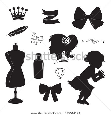 Hair Bow Stock Images, Royalty.
