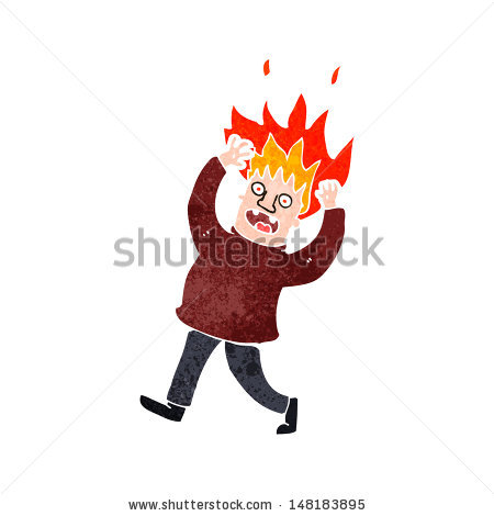 Hair On Fire Clip Art Pictures to Pin on Pinterest.