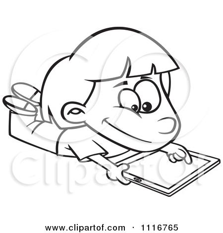 Showing post & media for Ipad girl cartoon.