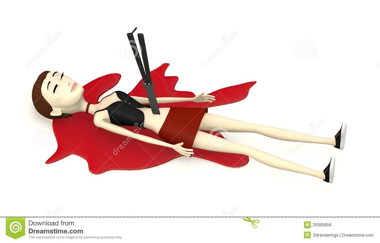 Murder Girl Knife Stock Illustrations.