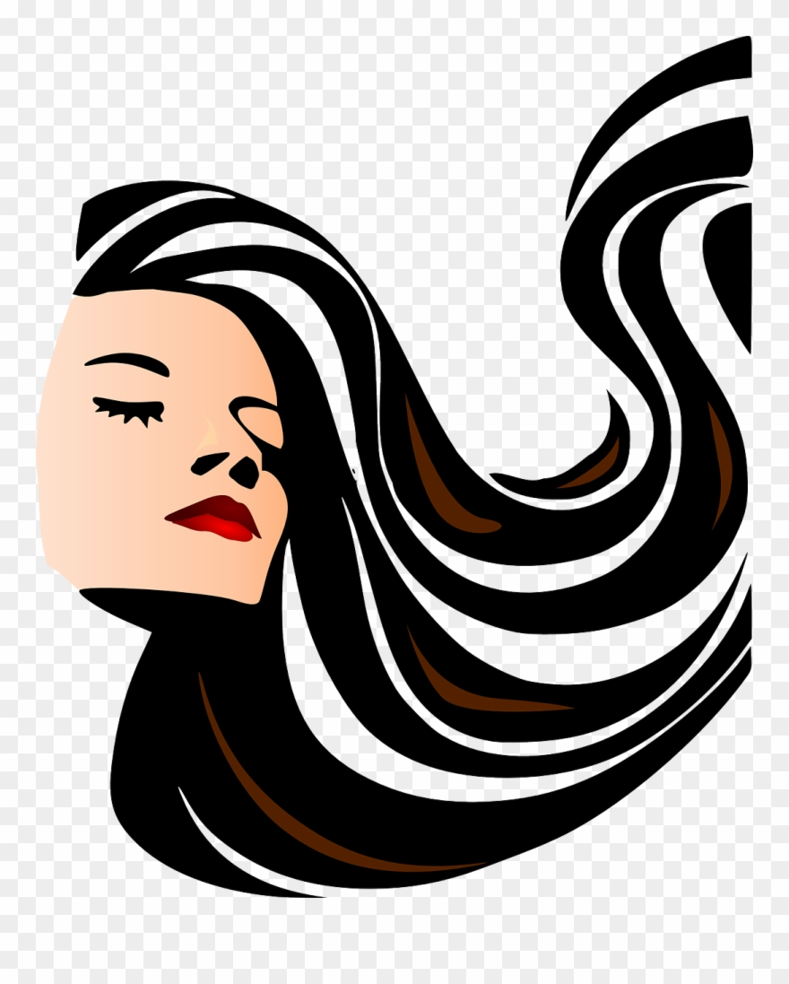 Woman Girl Brunette Beauty Face Png Image.