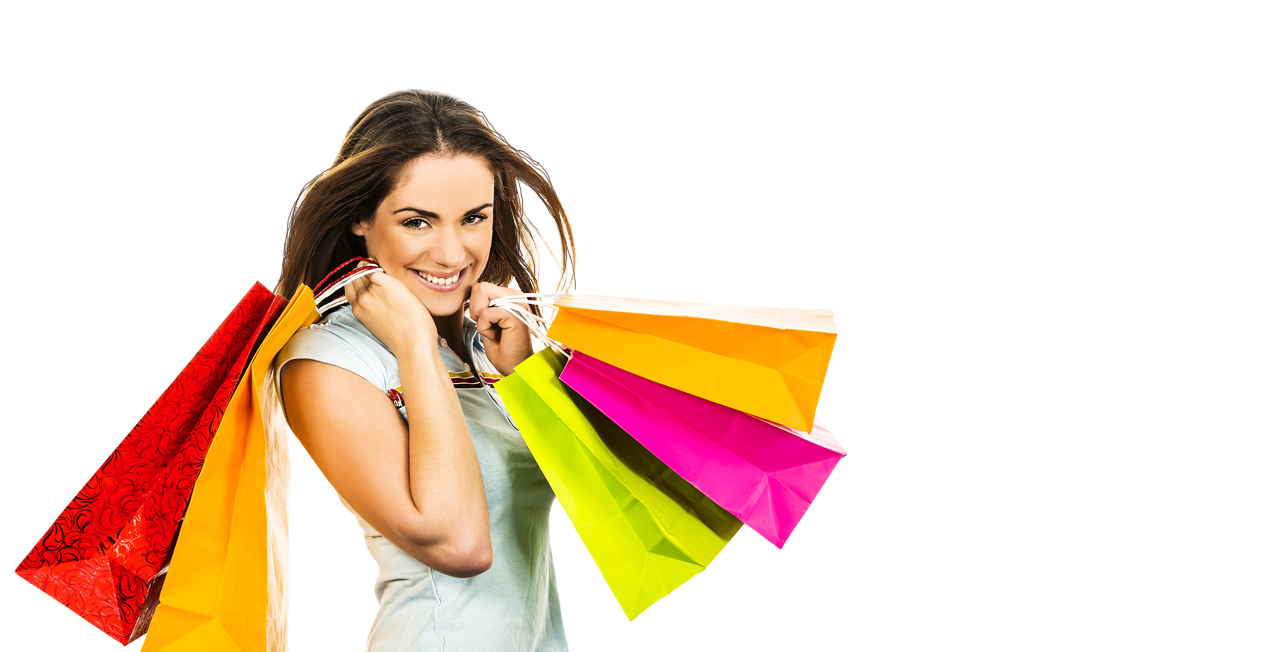 Girl With Shopping Bags PNG Transparent Girl With Shopping Bags.PNG.