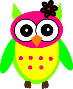 She Owl Clip Art at Clker.com.