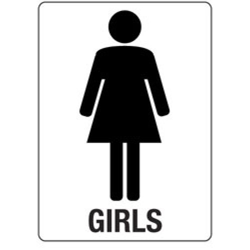 Free Girls Bathroom Sign, Download Free Clip Art, Free Clip.