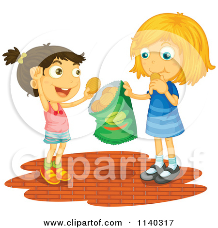 Girls Food Clipart.