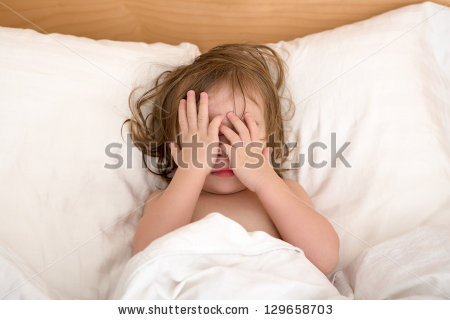 Child Afraid Stock Images, Royalty.