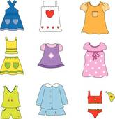 Girl clothes clipart 1 » Clipart Station.