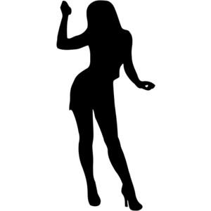 Dancing Girl Clipart.