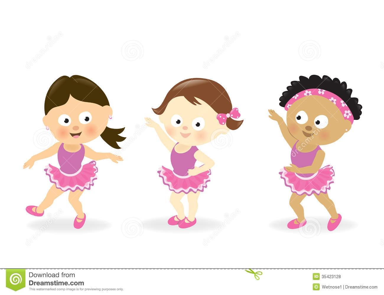 Clipart Dancing Girl.