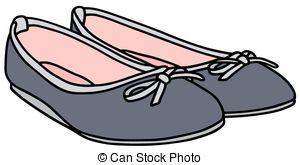 Clipart girls dress shoes flats.