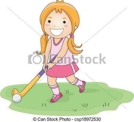 Girls field hockey clipart 6 » Clipart Portal.