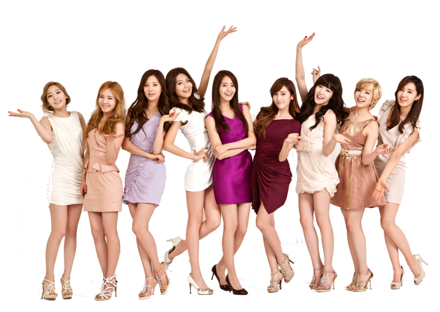 Girls Generation PNG Images Transparent Free Download.