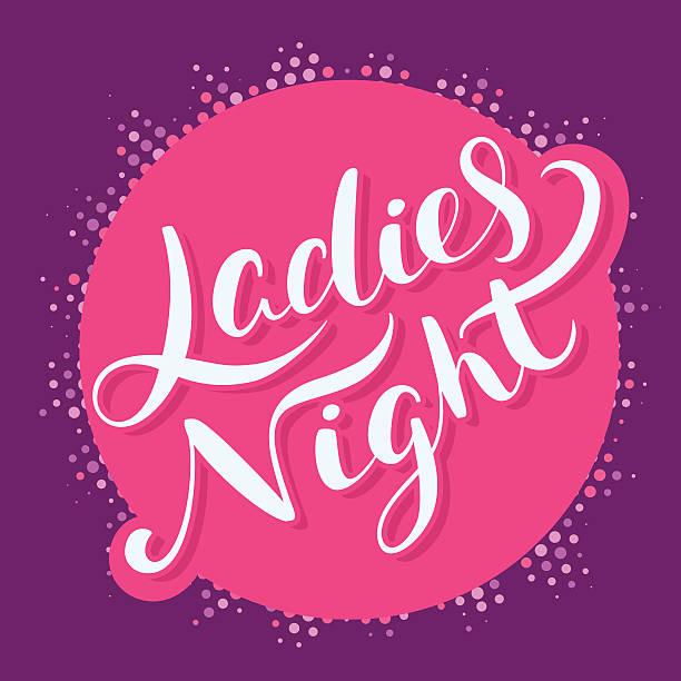 Best Girls Night Illustrations, Royalty.