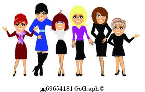 Girls Night Out Clip Art.