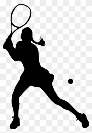 Free PNG Girls Tennis Clip Art Download.