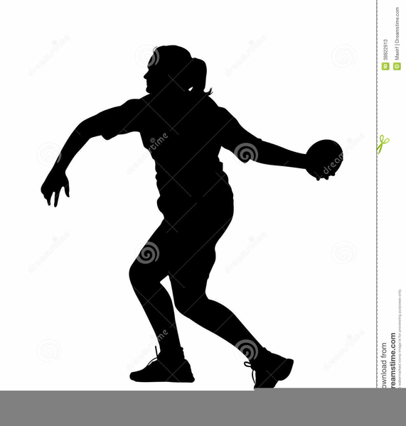 Girls Track And Field Clipart.