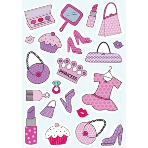 Girly clipart free.