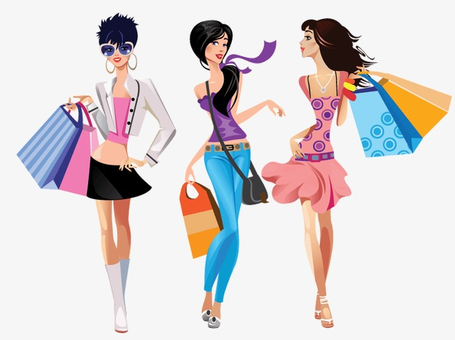 Fashion Shopping Clipart Png.