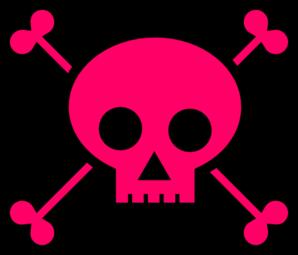 Skull With Crossbones Clip Art at Clker.com.