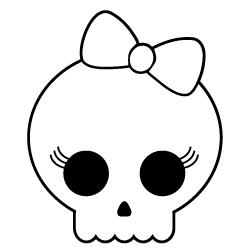 Free Girl Skulls Cliparts, Download Free Clip Art, Free Clip.