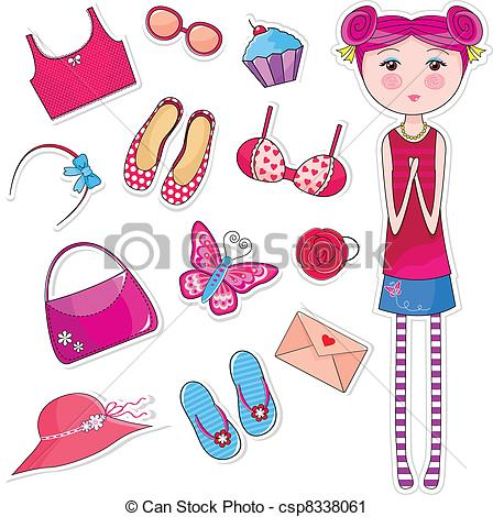 Girly things clipart 1 » Clipart Station.