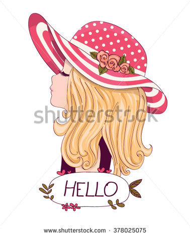 Fashion Girl Stock Images, Royalty.