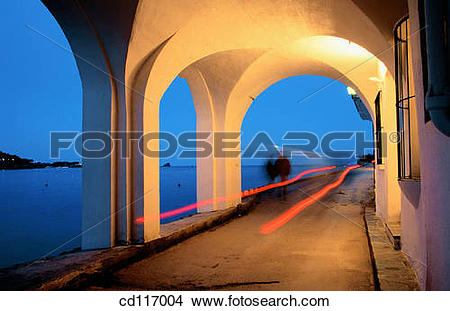 Stock Photo of Cadaques. Girona province. Spain cd117004.