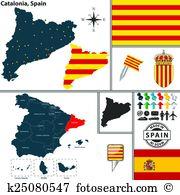 Girona Clipart Illustrations. 7 girona clip art vector EPS.