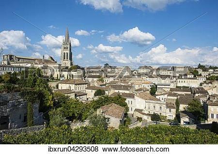 Pictures of Ausblick uber die Altstadt, Saint Emilion, Departement.