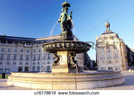 Stock Photograph of Bordeaux, France, Aquitaine, Gironde, Europe.