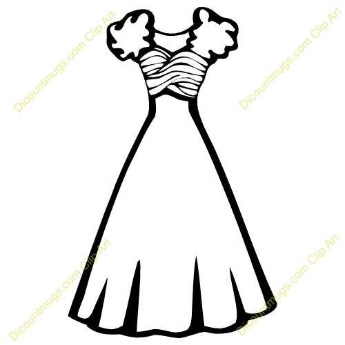 little girl dress clipart Archives.