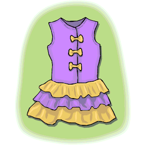 Girl Clothes clipart, cliparts of Girl Clothes free download (wmf.