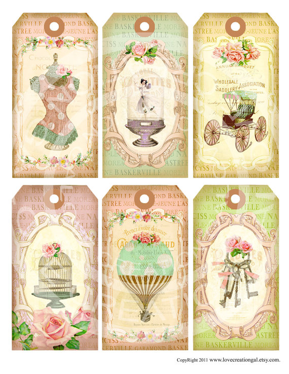 6 Vintage Paris French Antique Fairy Girl Keys Dress form.