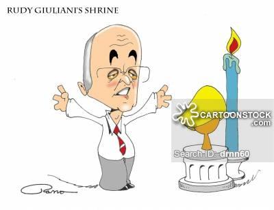 Rudy Giuliani Cartoons and Comics.