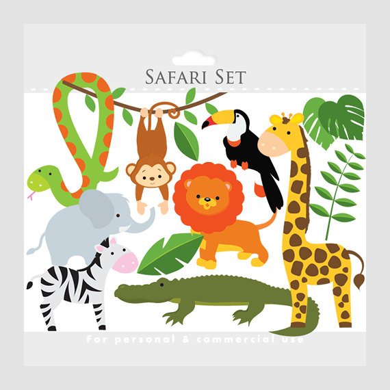 Clipart safari safari animali Leone di WinchesterLambourne.