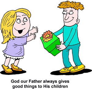 Giving Gift Clipart.