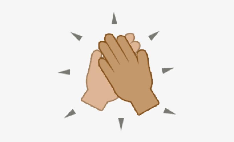 Hand Emoji Clipart High Five.