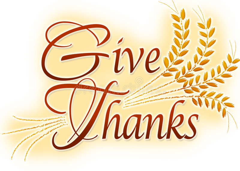 Give Thanks Stock Illustrations.