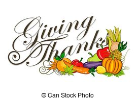 Give thanks Illustrations, Graphics & Clipart.