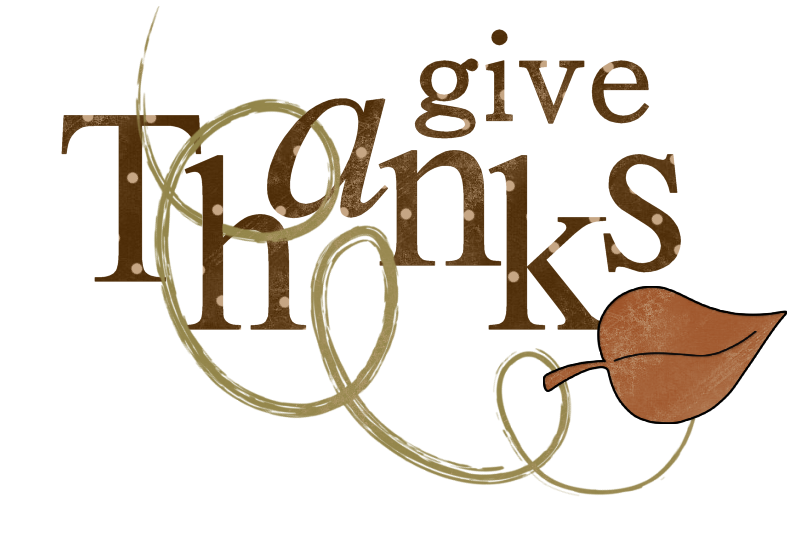 Give Thanks Thanksgiving Clip Art 14.