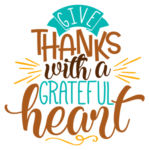 Give Thanks With A Grateful Heart Png & Free Give Thanks.